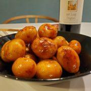 インカのめざめの甘辛煮は赤ワインとペアリング