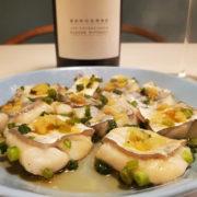 太刀魚の生姜風味蒸し【ソムリエ・エクセレンスがつくる男飯】に白ワインをペアリング