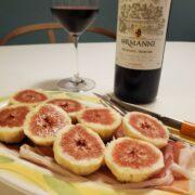 いちじくと生ハムは赤ワインとペアリング