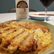 めんつゆ簡単カツ煮とワインのペアリング