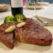 【コストコプライムビーフ】おうちステーキは赤ワインで楽しむ