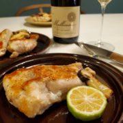 鶏むね肉のステーキをゆずで食べる!ワインペアリングは南アのシュナン・ブラン