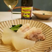 塩豚と大根の和風ポトフとワインのペアリング
