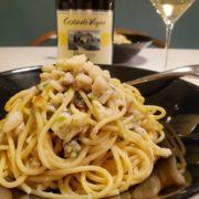 太刀魚のパスタと白ワインのペアリング|男飯