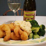 エビフライとワインのペアリング|タルタルソース