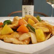 酢鶏とワインのペアリング|揚げずに簡単ヘルシー、お肉柔らか