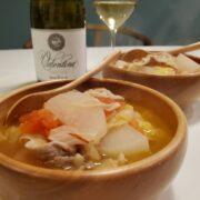 野菜とお肉のスープとワインのペアリング|冷蔵庫すっきり