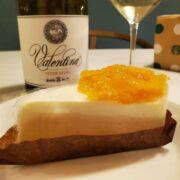 スタバのオレンジ&レアチーズケーキはこの白ワインとペアリング!!!