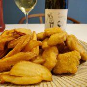 コストコ フードコート チキンナゲット&ポテトとワインのペアリング