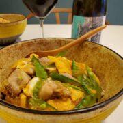 親子丼とワインのペアリング|あの味を想像しながら