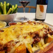 ミートソースが主役!かぼちゃのオーブン焼きとワインのペアリング