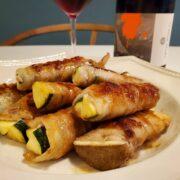 中までジューシー!ズッキーニの豚バラ巻とワインのペアリング|焼き時間が大切です