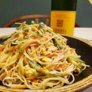 美味しいスパゲティサラダの作り方&楽しいワインペアリング