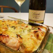 鶏むね肉のチーズ焼きのシンプルレシピとワインのペアリング
