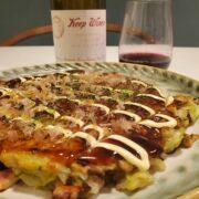 いかのお好み焼きとワインのペアリング|オタフクお好み焼きセットで簡単美味しい
