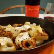 レンコンの燻製カマンベールチーズ焼きの作り方とワインペアリングの楽しみ方