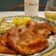 ワンプレートで美味しい豚の生姜焼き&簡単付け合わせ2品
