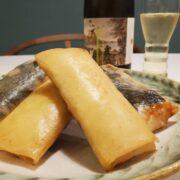 感動レベル!鶏むねのゆで鶏と海苔とチーズの春巻き|ササミでも美味しい